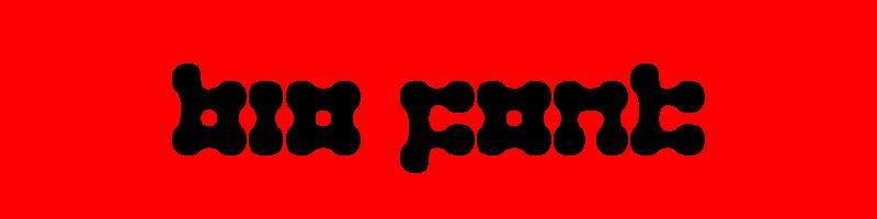 線上英文生物字型產生器,快速將英文字轉換成英文生物字型 ,系統支援WIN+MAC蘋果系統