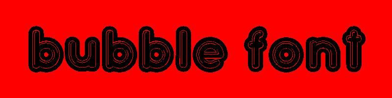 線上英文泡沫字型生成器,快速將英文字轉換成英文泡沫字型 ,系統支援WIN+MAC蘋果系統