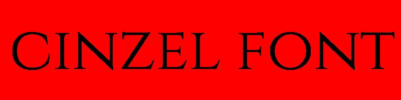 線上英文cinzel字型產生器,快速將英文字轉換成英文cinzel字型 ,系統支援WIN+MAC蘋果系統