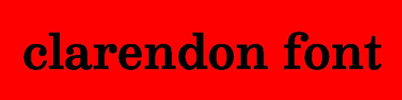 線上英文克拉倫登字型生成器,快速將英文字轉換成英文克拉倫登字型 ,系統支援WIN+MAC蘋果系統