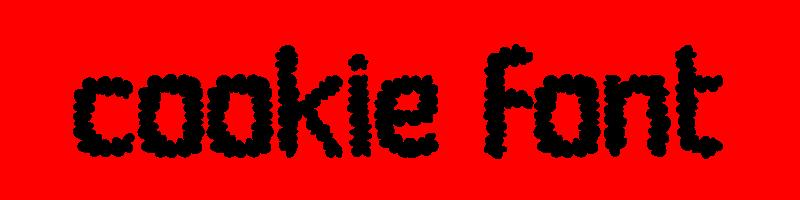 線上英文餅乾字型產生器,快速將英文字轉換成英文餅乾字型 ,系統支援WIN+MAC蘋果系統