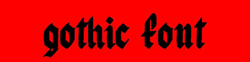 線上英文哥特式字型生成器,快速將英文字轉換成英文哥特式字型 ,系統支援WIN+MAC蘋果系統