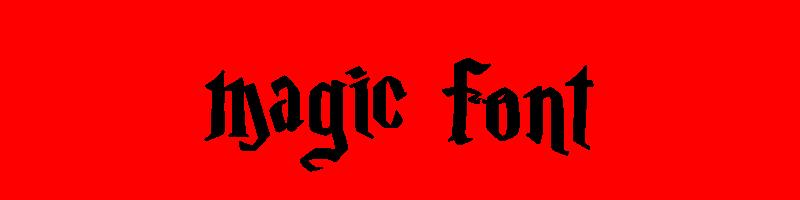 線上英文神奇字型生成器,快速將英文字轉換成英文神奇字型 ,系統支援WIN+MAC蘋果系統