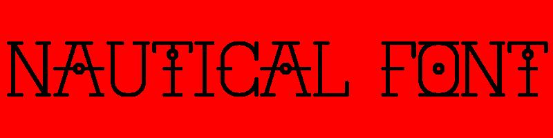 線上英文航海字型產生器,快速將英文字轉換成英文航海字型 ,系統支援WIN+MAC蘋果系統