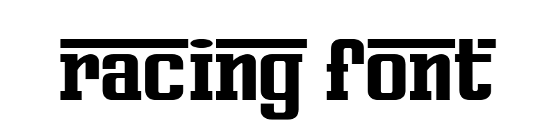 線上英文賽車字型生成器,快速將英文字轉換成英文賽車字型 ,系統支援WIN+MAC蘋果系統
