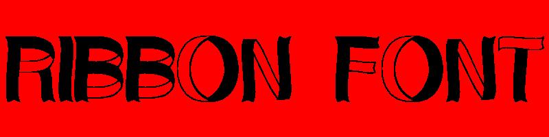 線上英文絲帶字型生成器,快速將英文字轉換成英文絲帶字型 ,系統支援WIN+MAC蘋果系統